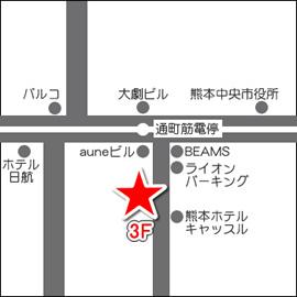 Flair Salonマップ